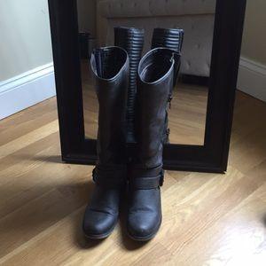 Gray ALDO boots
